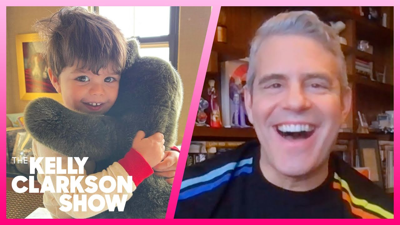 Andy Cohen Listens To Grateful Dead With His 2-Year-Old Son Benjamin