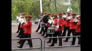 changing of the guard,new zealand army band