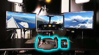 MY NEW FLIGHT SIMULATOR GAMING SETUP!