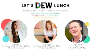 Let's DEW Lunch Webinar with Wonder Media Network (April 7, 2020)