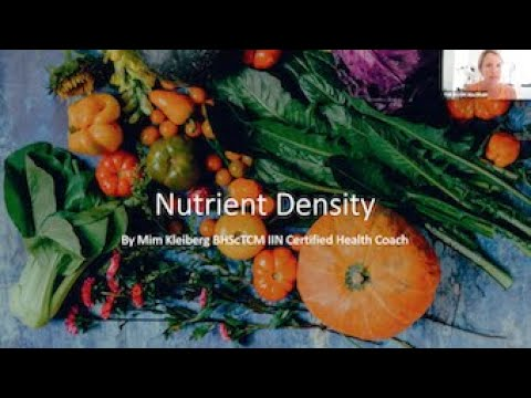 Nutrient Density -