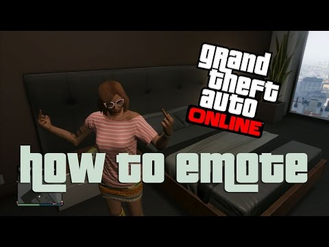 HOW TO EMOTE: GTA Online