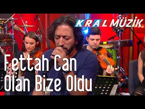 Kral Pop Akustik - Fettah Can - Olan Bize Oldu