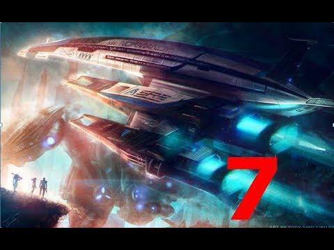 прохождение игры:Mass Effect-часть 7 Сдаём задания+призраки прошлого