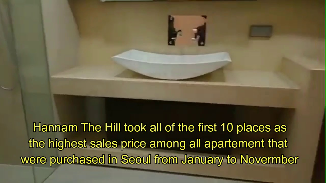 BTS moved to first-class apartement complex called Hannam The Hill