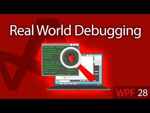 C# WPF UI Tutorials: 28 - Real World Debugging Application