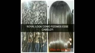 ROYAL LOOK ALISAMENTO RODRIGO CINTRA! COMPATIVEL ATÉ COM HENNE!