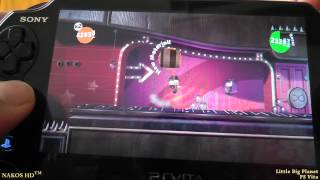 Little Big Planet - Ps Vita - Gameplay with commentary (HUN)