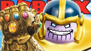 THANOS IN ROBLOX! (Roblox Superhero Tycoon)