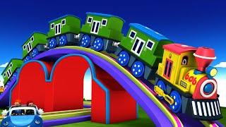 BOB THE TRAIN - Choo Choo Cartoon Train - Thomas and friend - Toy Factory.