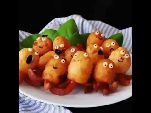сосиски осьминоги для детей