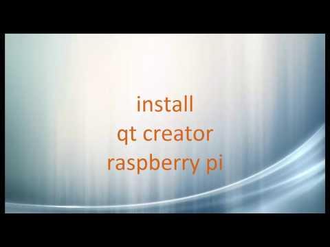 Install QT Creator in Raspberry PI - YouTube