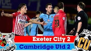 Exeter City 2-2 Cambridge United - Sky Bet League 2 Highlights 2014/15