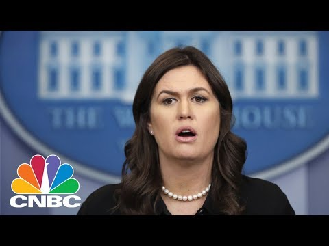 White House Holds Daily Press Briefing - Wednesday April 4, 2018 | CNBC