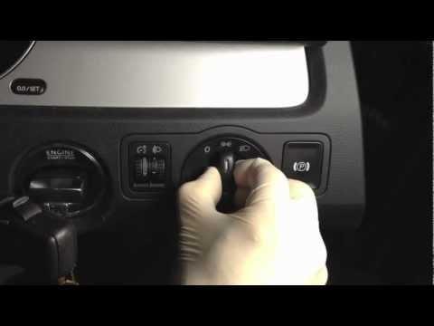 "VW headlamp switch change - ""How to"""