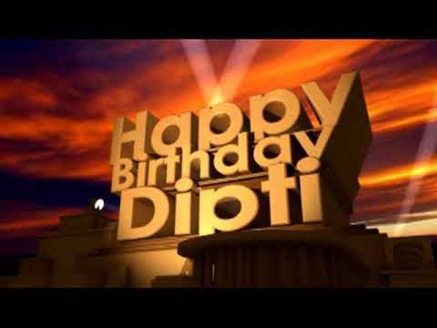 Happy Birthday Dipti