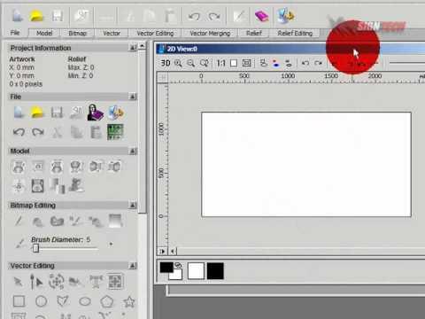 การใช้งาน CNC ตอน การใช้งานโปรแกรม Art Cam Pro