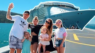 WORLD'S 2ND LARGEST CRUISE SHIP FAMILY HOLIDAY - HARMONY OF THE SEAS
