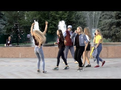 Жердевка - Танцы на открытом воздухе.
