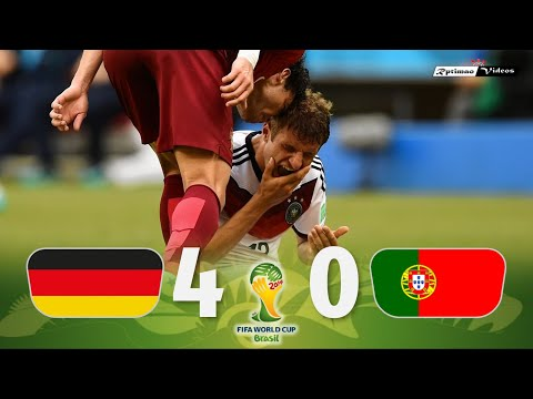Germany 4 X 0 Portugal ● 2014 World Cup Extended Goals U0026 Highlights HD