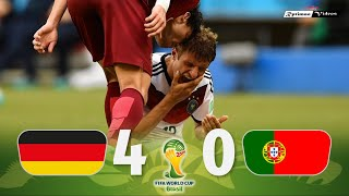 Germany 4 x 0 Portugal ● 2014 World Cup Extended Goals & Highlights HD