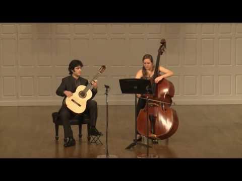 Duo for Double Bass and Guitar - Jiri Laburda