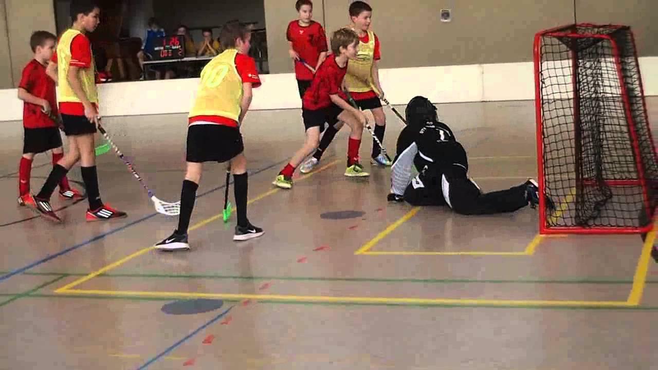 Floorballturnier in Detmold - YouTube