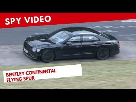 Bentley Continental Flying Spur   Spy video (Novembre 2018)