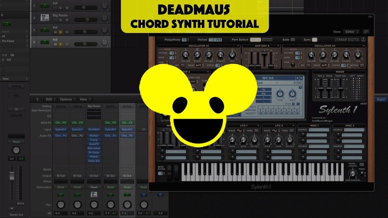 Classic Deadmau5 chord synth (Tutorial)