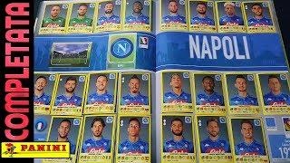 ⚽ NAPOLI COMPLETATA! Panini Calciatori 2018-19!