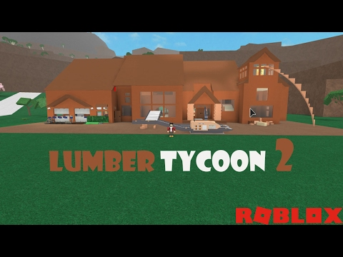 Lumber Tycoon 2 -  House Tour and Factory Light Build