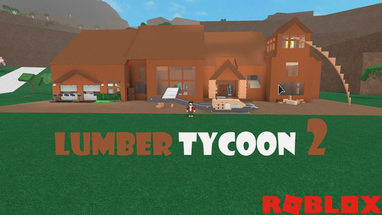 Lumber tycoon 2 house tour and factory light build doovi for Where to start when building a house
