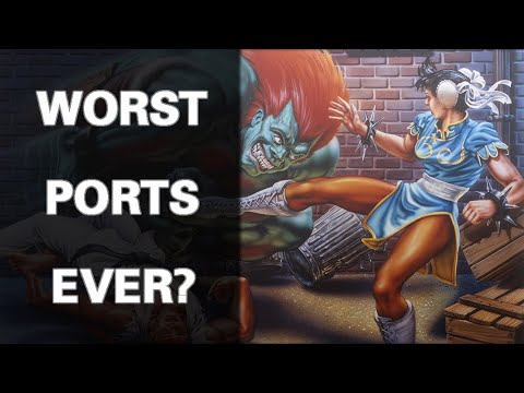 The Pain Of Ports: Street Fighter II On The Amiga
