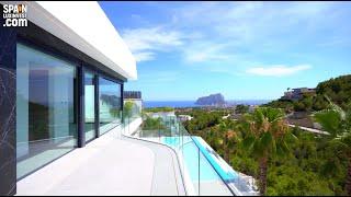 🔴1825000€/Элитный дом в Испании/Вилла ХайТек в Бениссе/Панорамный вид на море и красоты Коста Бланки