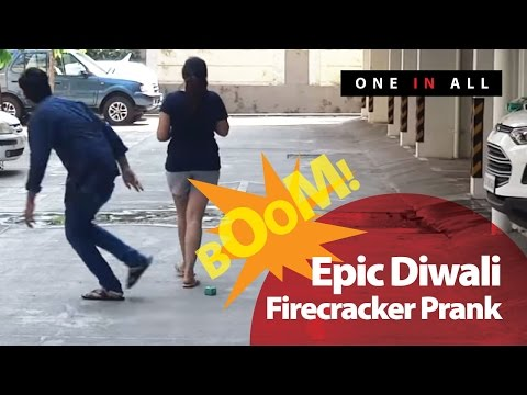 Epic Diwali Firecracker Prank (GONE WRONG) | One In All (Pranks In India) - Diwali Special 2016
