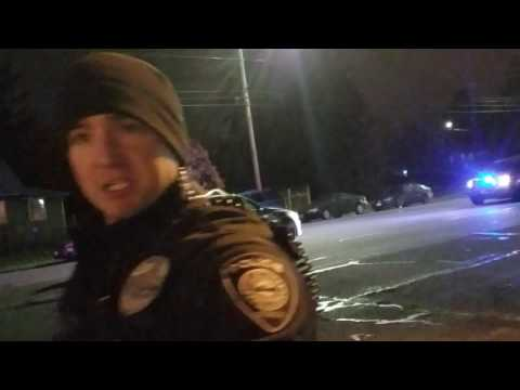 Gresham cop talks about the investigation of a wreck where a child was hit