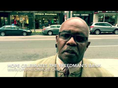 HOPE Celebrates the Freedman's Bank