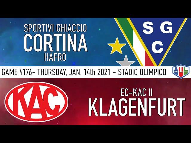 SGC CORTINA HAFRO vs KA2 KLAGENFURT - 14 Gennaio 2021
