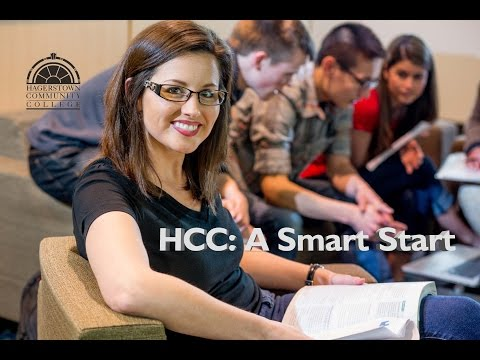 A Smart Start at Hagerstown Community College