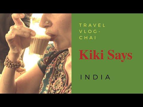 Vlog 1 - India - It's Time for Chai - Mysuru Corner Shop