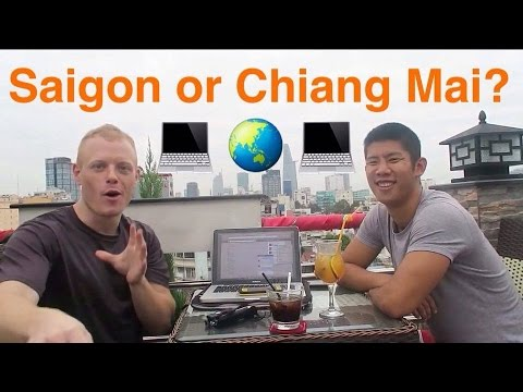 Saigon vs. Chiang Mai + How We Fund Our Travels Selling on Amazon FBA: Digital Nomad Podcast Ep2