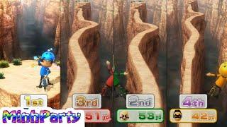 Wii Party U Minigames Gameplay Dojo Domination Donkey Kong Gameplay @MINH PARTY U