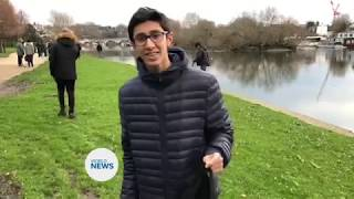 British Muslim Youth clean up Britains streets on New Years Day