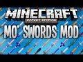 MO' SWORDS MOD - More Swords In Minecraft Pocket Edition