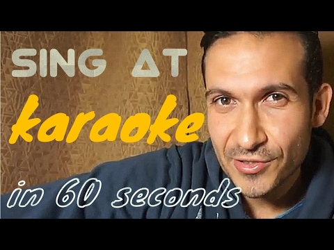 How To Sing At Karaoke In 60 Seconds