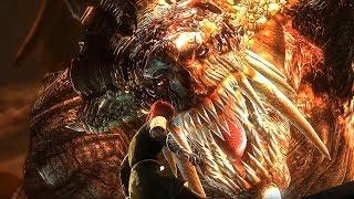 Demon's Souls - Dragon God Boss Fight (4k 60fps)