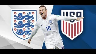 England 3-0 USA | Highlights | All goals | Rooney last match (2018)