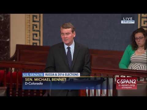 Sen. Michael Bennet on FBI Director James Comey