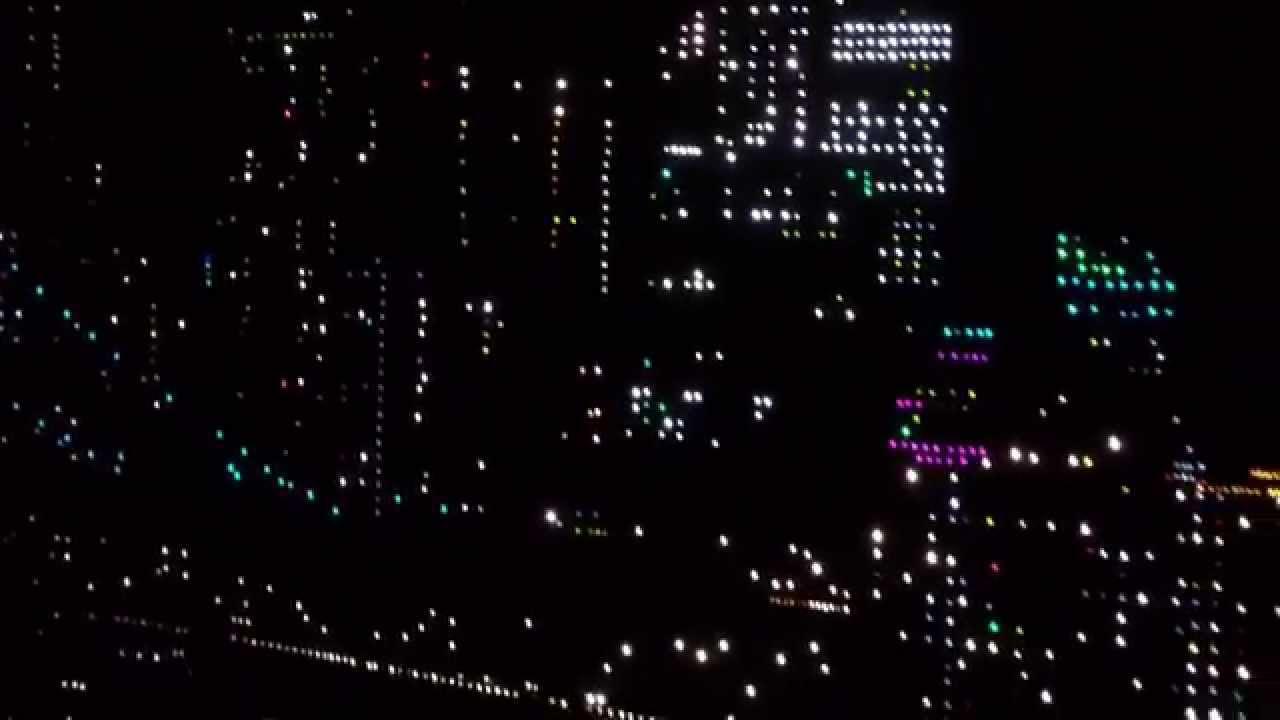 Светодиодная картина Свечи с шишками - YouTube