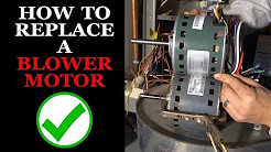 How to Replace the Blower Motor in a Furnace